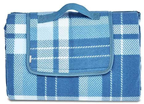 AmazonBasics – Manta para pícnic con base impermeable, 150 x 195 cm