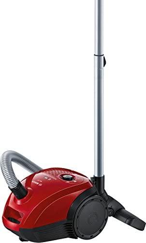 Bosch GL-20 BGL2UA200 – Aspirador con bolsa compacto, 600 W, Color Rojo