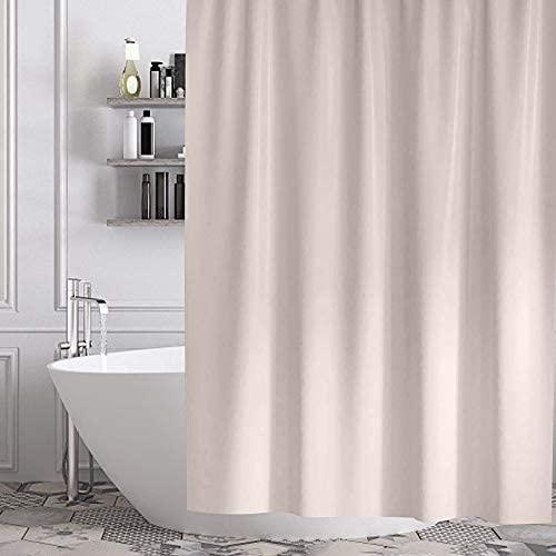 Gricol Cortina de Ducha Impermeable Resistente al Moho Cortina de Baño Tela Gruesa Lavable Elegante Revestimiento de Ducha Impermeable