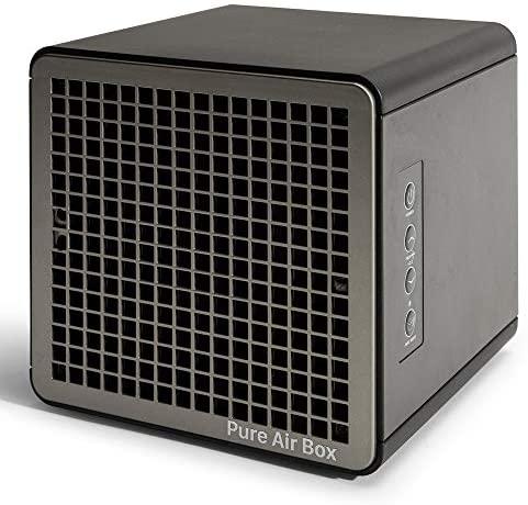 HAVERLAND PUREAIRBOX – Purificador Desinfectador de Aire y Superficies PCO  Eficacia 99,99% + Eficacia Que filtros HEPA  Germinicida  hasta 140m2  Luz UV + Ionizador + OZONO Baja Concentración