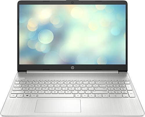 """HP 15s-fq2041ns – Ordenador portátil de 15.6"""" FullHD (Intel Core i5-1135G7, 16GB de RAM, 512GB SSD, Intel Iris Xe, Sin sistema operativo) Plata – teclado QWERTY Español"""