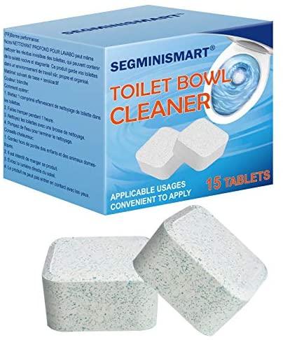 Limpiador de inodoro, tabletas limpiadoras de inodoro, blanqueador automático para inodoro, tabletas limpiadoras de baño