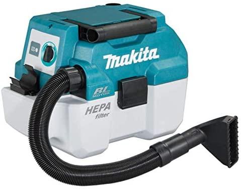 Makita DVC750LZX1 Aspirador 18 V (sin batería, sin Cargador), Azul