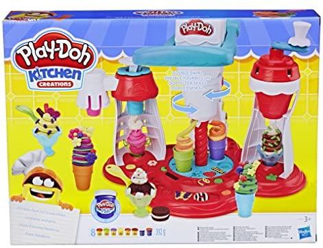 Play-Doh- Heladería (Hasbro E1935EU4)