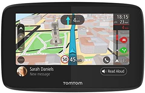 TomTom GO 520 – GPS para coche, 5 pulgadas, llamadas manos libres, Siri, Google Now, actualizaciones Wi-Fi, traffic para toda la vida mediante smartphone y mapas mundiales, mensajes de smartphone