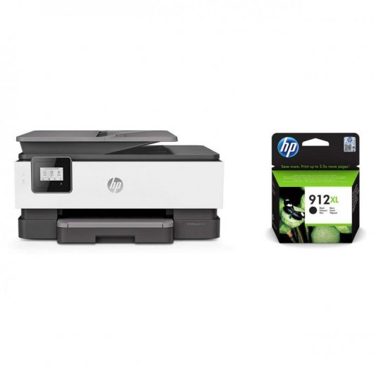 HP OfficeJet 8012 Multifunción + Cartucho 912XL
