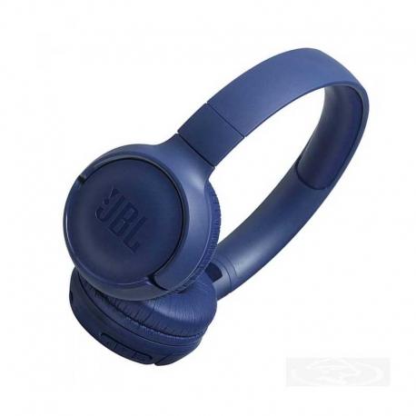 JBL Tune 500BT – Auriculares supraaurales inalámbricos con conexiones multipunto y asistente de voz, batería de 16 h, azul