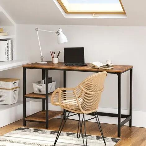 Mesa de Escritorio y Ordenador con diseño Industrial