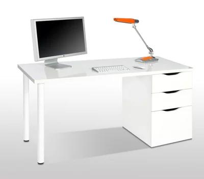 Mesa escritorio Athena blanco
