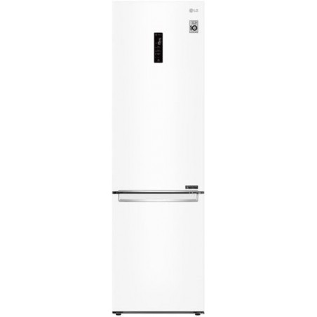 LG GBB62SWHMN – Frigorífico Combi 2m, A++, capacidad de 419 l, serie 6, Blanco