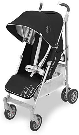 Maclaren Techno XT Silla de paseo, ligero para recién nacidos hasta los 25 kg, Asiento multiposición, suspensión en las 4 ruedas, Capota extensible con UPF 50+
