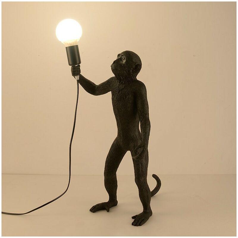 Lámpara mono exótica de resina MICU