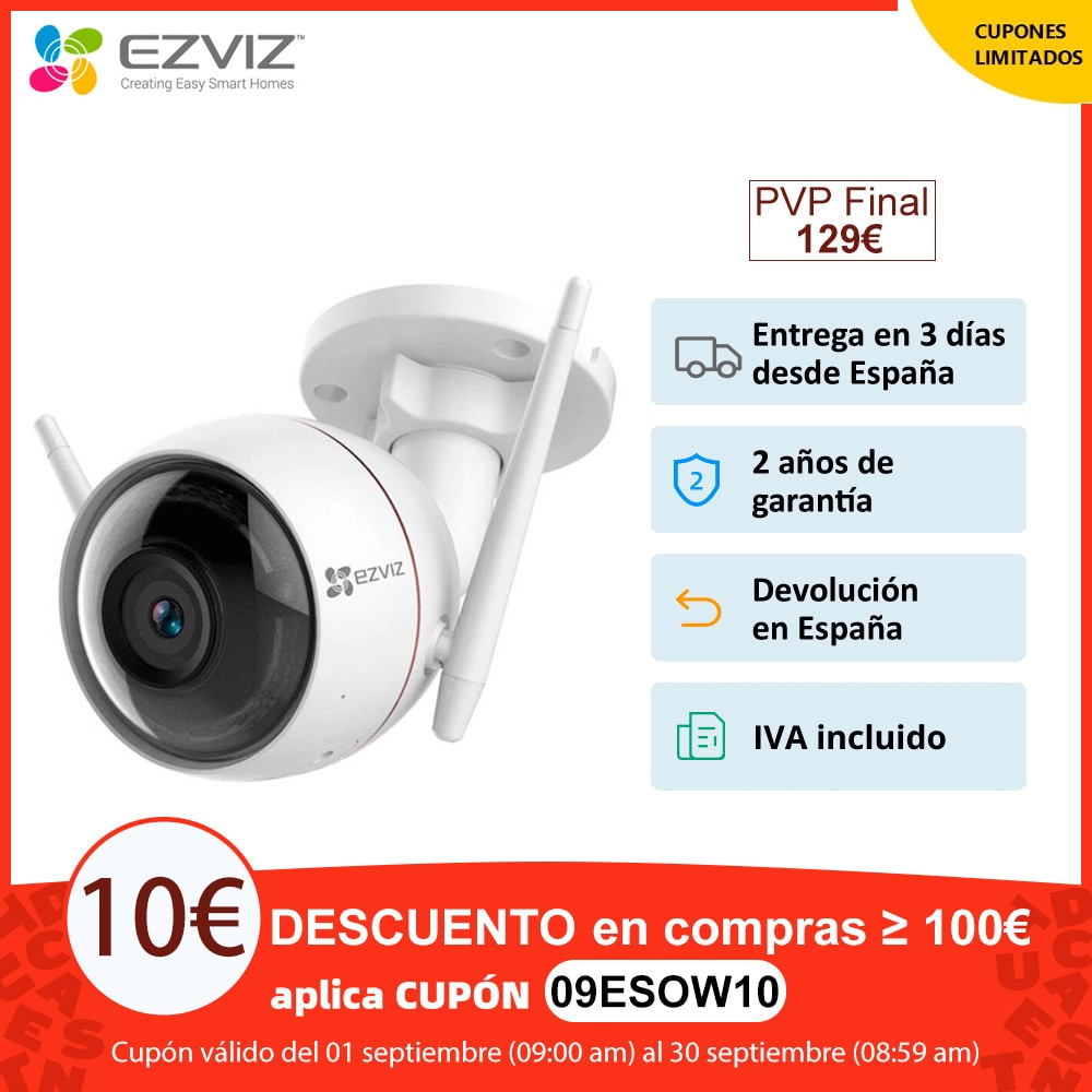 EZVIZ C3W, security camera