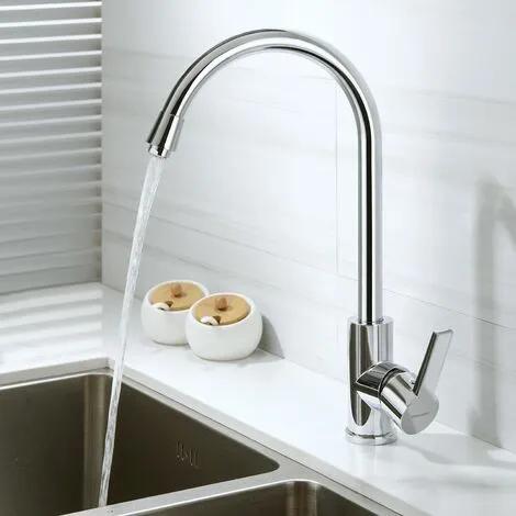 Elegante grifo cocina grifo giratorio 360°