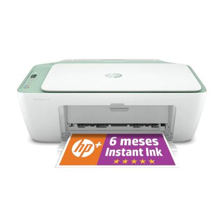 Impresora Multifunción tinta HP DeskJet 2722e + 6 meses gratis de impresión Instant Ink con HP+