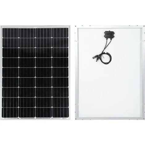 Panel solar 100W para carga baterías 12V Módulo