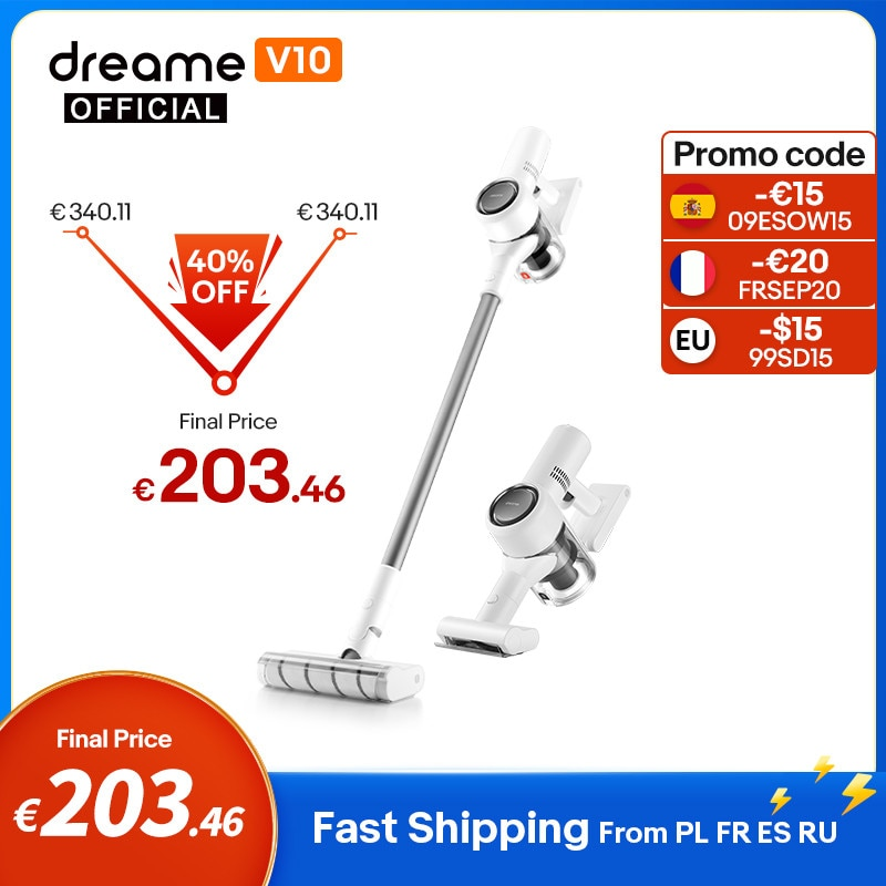 Dreame V10 Handheld Vacuum Cleaner