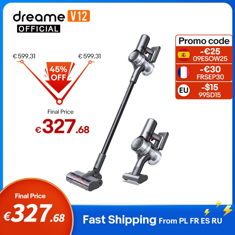 Dreame V12 Cordless Vacuum Cleaner 27000Pa