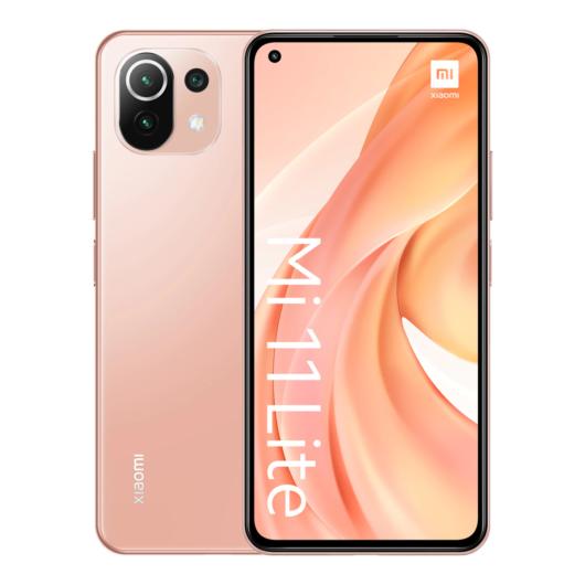 Xiaomi Mi 11 Lite 6 GB + 64 GB Peach Pink móvil libre