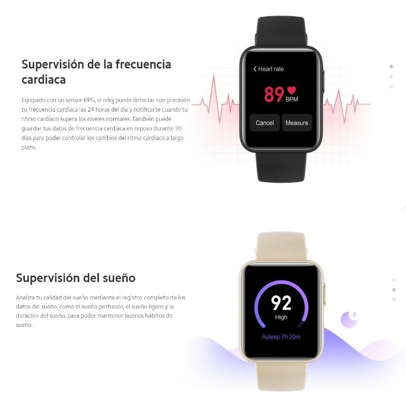 Xiaomi Mi Watch Lite GPS/GLONASS integrado