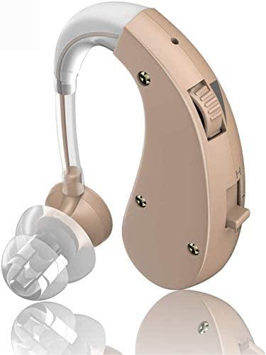 Amplificador personal auditivo sin pilas recargable digital casi invisible