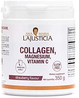 Ana Maria Lajusticia – Colágeno con magnesio – 450 comprimidos articulaciones fuertes y piel tersa. Regenerador de tejidos con colágeno hidrolizado tipos 1 y 2. Envase para 75 días de tratamiento.