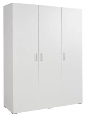 Armario ropero puerta abatible One Blanco 150x200x50 cm