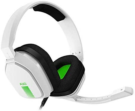 ASTRO Gaming A10 Auriculares alámbricos, ligeros y resistentes, ASTRO Audio, clavija de 3.5mm, para Xbox Series X y S, Xbox One, PS5, PS4, Nintendo Switch, PC, Mac, móvil – Blanco/Azul