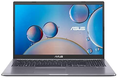 "ASUS VivoBook 15 F515JA-BR097T – Portátil de 15.6"" HD (Intel Core i3-1005G1, 8GB RAM, 256GB SSD, Intel UHD Graphics, Windows 10) Gris – Teclado QWERTY español"