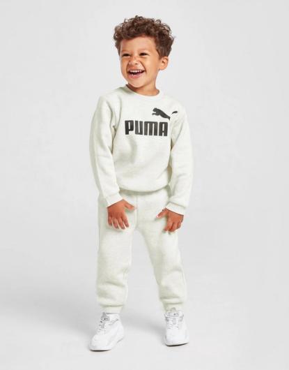 Chándal Core Logo Crew para bebés de PUMA