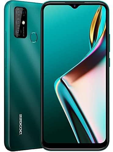 DOOGEE X96 Pro [2021] Moviles Baratos, 4GB RAM+64GB ROM, 5400mAh, 4G Smartphone Android 11 Cámara Cuádruple 13MP, Pantalla Waterdrop de 6.52'', Telefono Octa Core, Face ID, Huella Dactilar, Verde