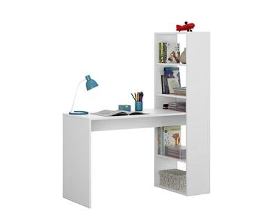 Mesa escritorio Duplo blanco 120x53x144 cm