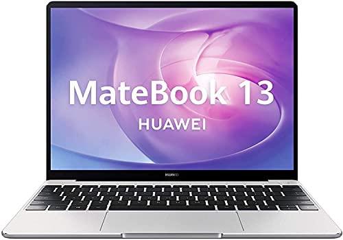 HUAWEI MateBook 13 – Ordenador portátil con Pantalla de 13´´ 2K (AMD Ryzen 7 3700U, 16GB RAM, 512GB SSD, Windows 10 Home), Color Gris – Teclado QWERTY Español