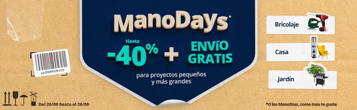 Hasta el 40% dto. + Envío gratis