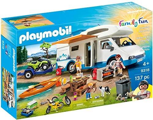 PLAYMOBIL 9318 – Family Fun Camping Aventura, a Partir de 4 Años