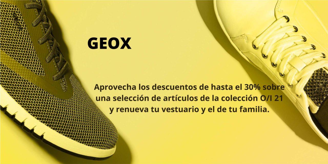 Hasta el 30% de descuento en Geox