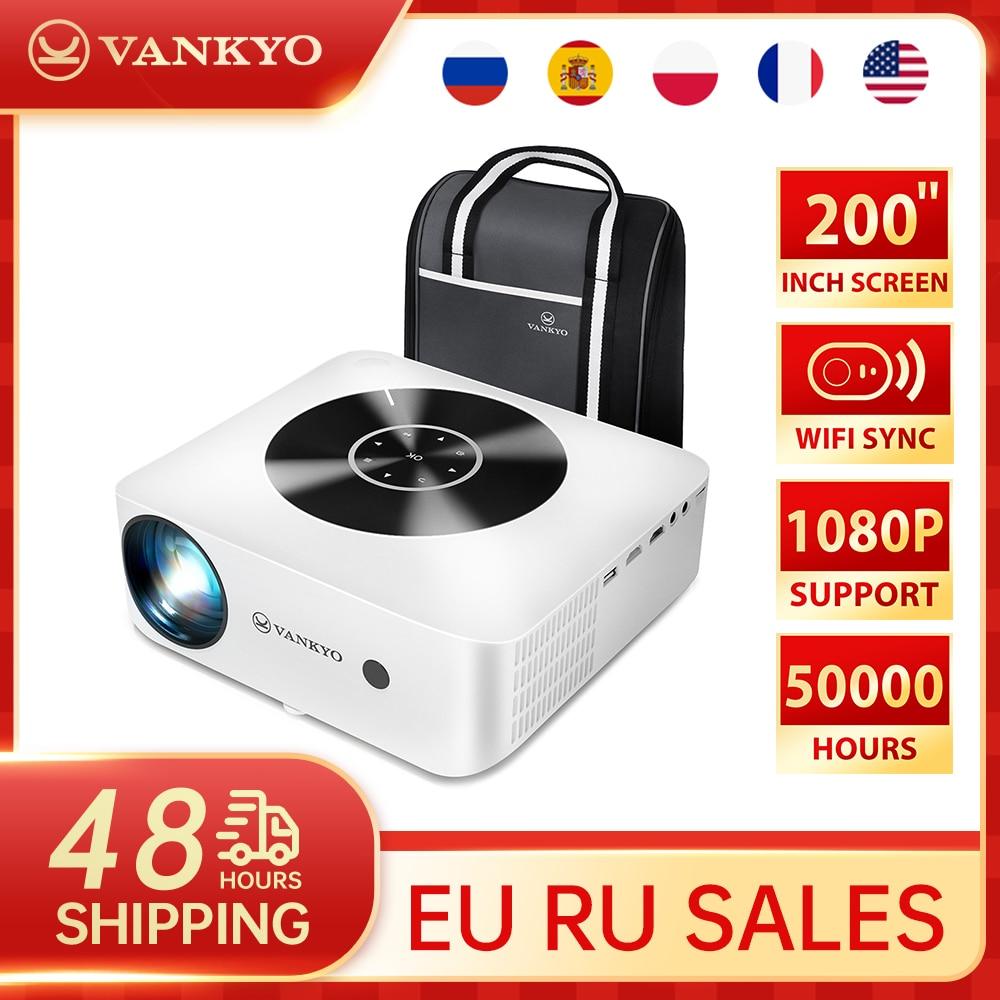VANKYO 1080P Projector Leisure E30WQ