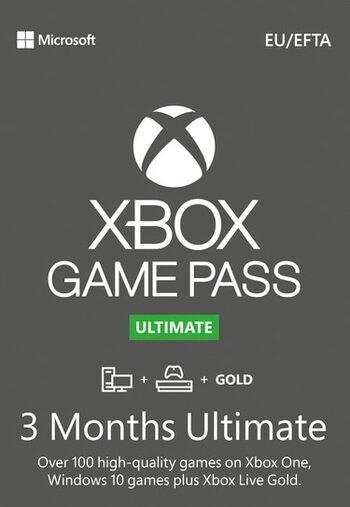 Xbox Game Pass Ultimate – 3 Meses de Suscripción