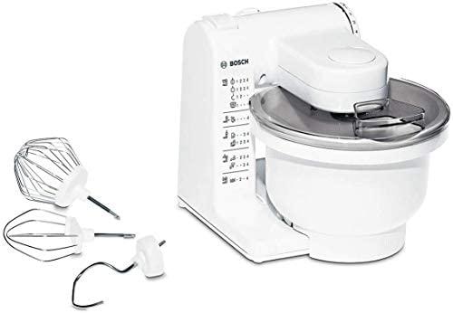 Bosch MUM4405 – Robot de cocina MUM4 para repostería, 500 W, capacidad 3.9 l, color blanco
