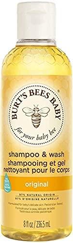 Burt's Bees Baby Bee, Champú y Gel de Ducha (235 ml)