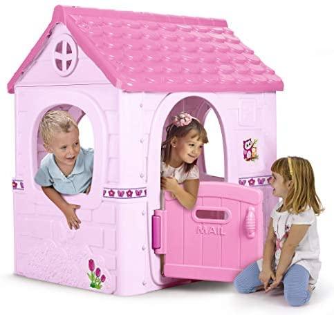 FEBER – Fantasy House Casita Infantil, Pink (Famosa 800012222)