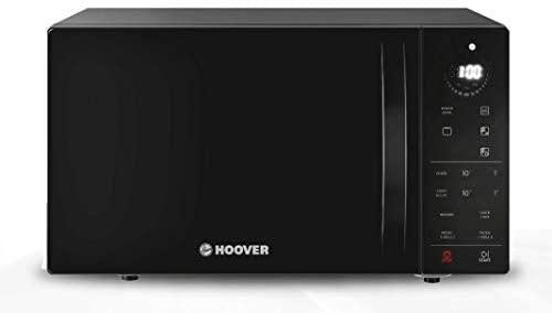Hoover Chefvolution HMG25STB – Microondas con grill, 25 litros, 900W – 1000W, Función Memory, 6 niveles de potencia, Inicio diferido, Express cooking, Negro