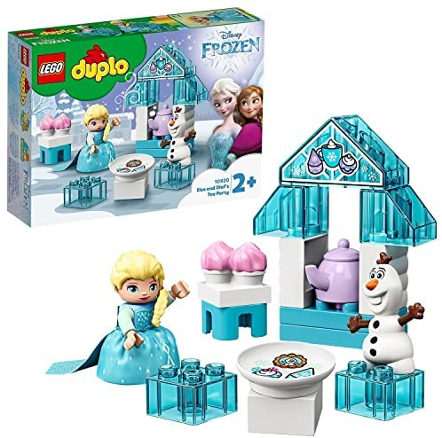 LEGO10920DuploPrincessFiestadeTédeElsayOlafJuguetedeConstrucción