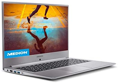 "MEDION Akoya S15449 – Ordenador portátil de 15.6"" FullHD (Intel Core i5-1135G7, 8GB de RAM, 512GB SSD, Intel Iris Xe Graphics, sin Sistema Operativo) – Teclado Qwerty Español"