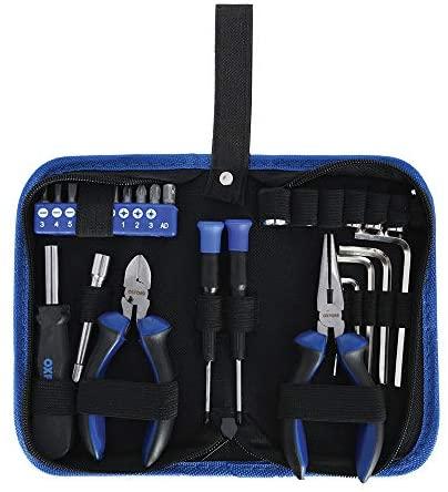 Oxford Kit de herramientas unisex OX771, azul/negro, talla única