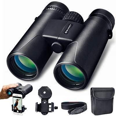 Prismáticos 10×42 Slokey – Binoculares Profesionales y Potentes con Gran Alcance. Ligeros e Impermeables, Prismas BaK4 y FMC. Ideales para Observación de Aves, Caza, Senderismo, Astronomía y Camping