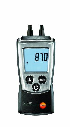 Testo 0560 0510 510 – Barómetro digital de mano (con capuchón protector, protocolo de calibración y pilas)