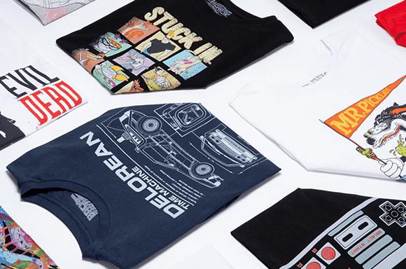 Pack 10 Camisetas Frikis Misteriosas